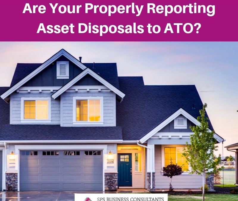 Reporting asset disposals for Capital Gains Tax purposes