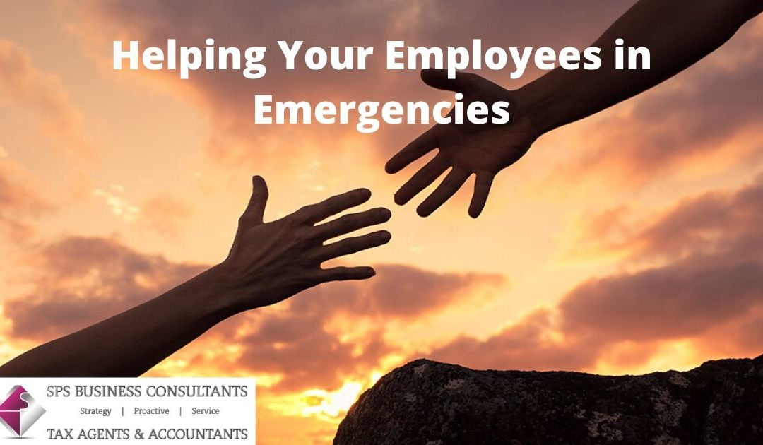 Helping your employees in emergencies