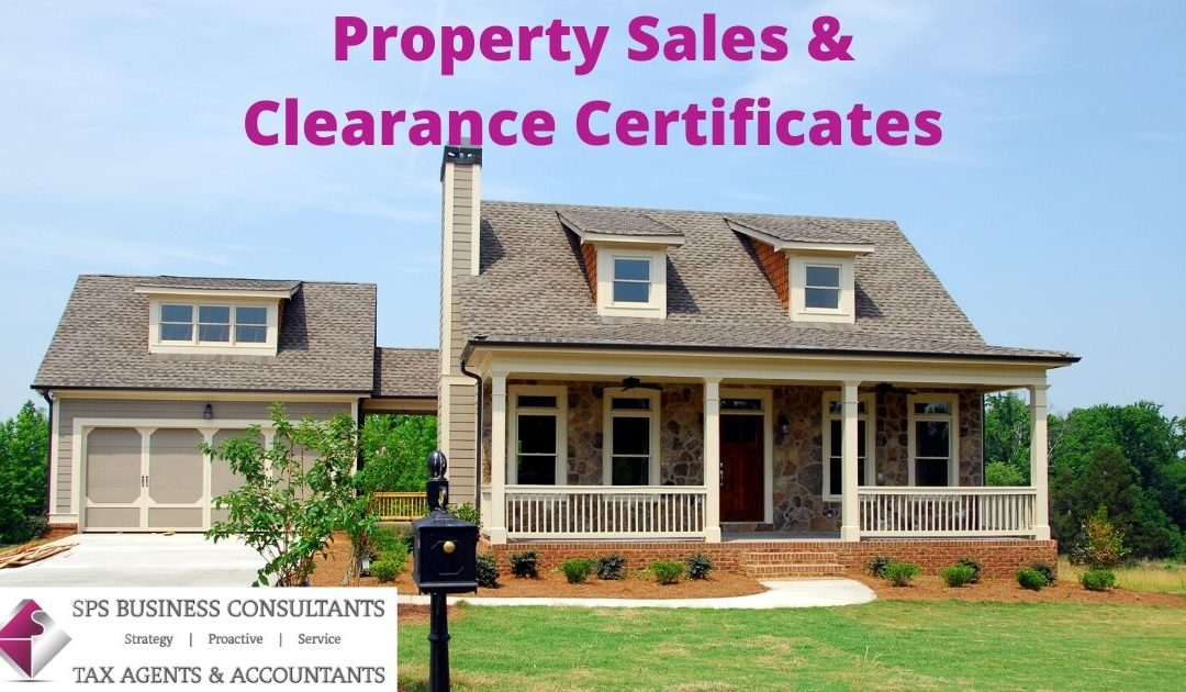 Property sales & clearance certificate