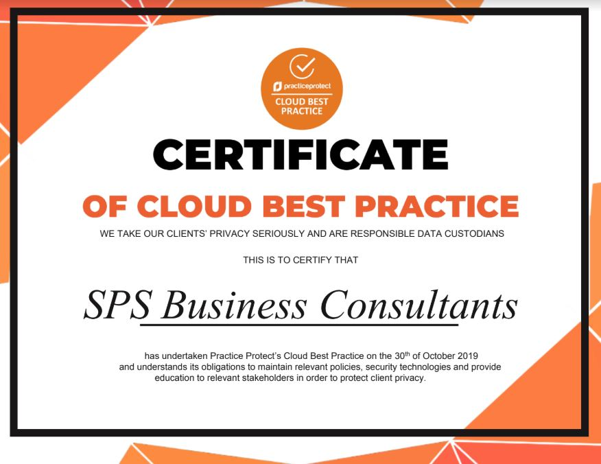 certificate of cloud best practice 1