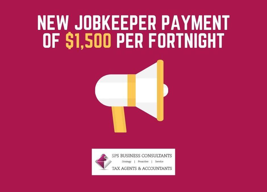New JobKeeper Payment