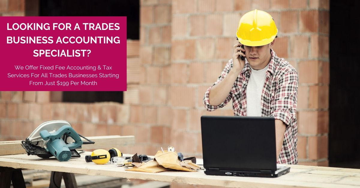 looking for a tradie accountant
